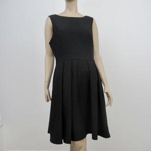 Kate Spade Dress Crepe Bow Back Black Size 10 NEW